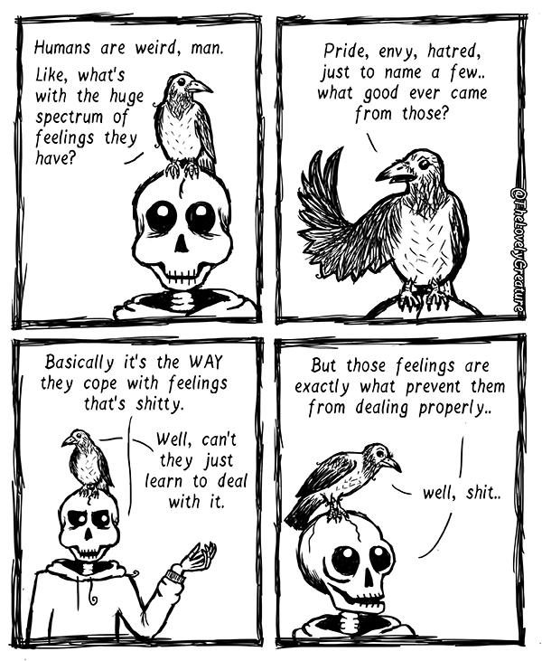 Humans-weird-emotions-comic-lovely-creature