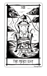 Nick Cave inspired tarot cards
