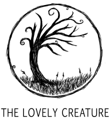 the lovely creature logo illustration