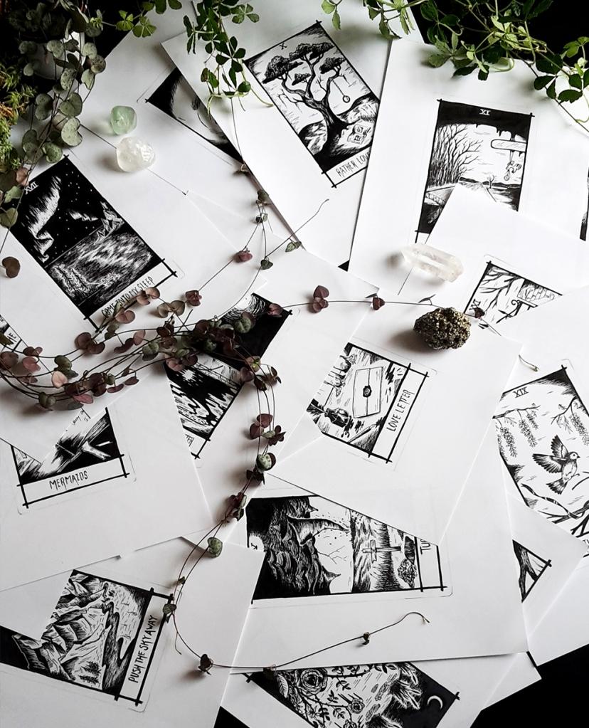 thelovelycreature-pernille-gregersen-lovely-creature-nick-cave-tarot-