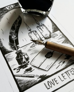 thelovelycreature-pernille-gregersen-lovely-creature-nick-cave-tarot-card-love-letter