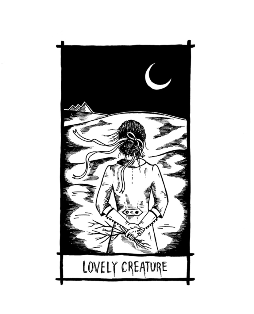 thelovelycreature-pernille-gregersen-lovely-creature-nick-cave-tarot-card